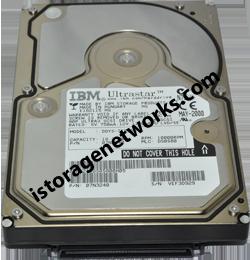 IBM MODEL DDYS-T36950 Disk Drive