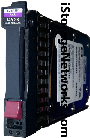 HP SPARE 512744-001 Disk Drive